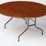 "Round Wood Size: 72"" Seats 10 to 12"