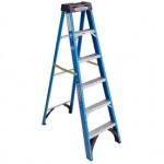 Ladder Fiberglass  6 ft